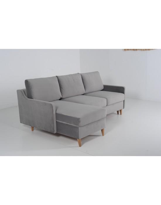 MILANO (212X148cm) minkštas kampas su miegojimo funkcija