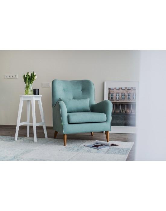 Retro stiliaus fotelis POLA