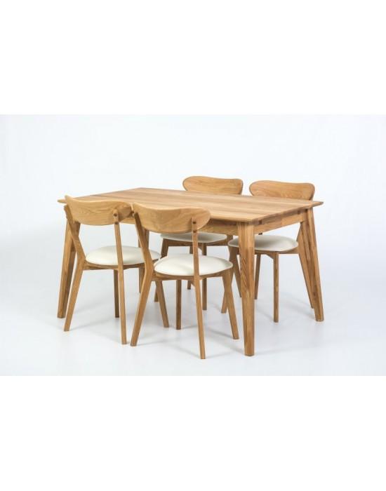 URBANO 120-200X90 ąžuolinis, prasiilginantis, stalas