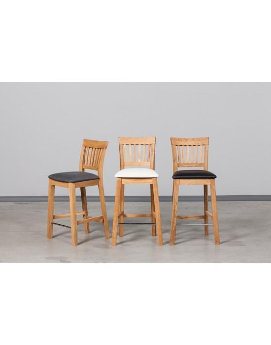 Ąžuolinė pusbario kėdė EKHOLM