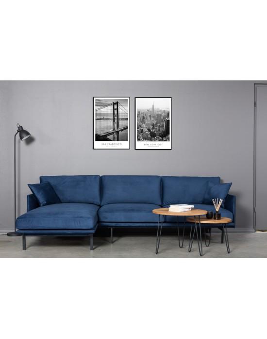 LOFT COMFORT (260X140cm) kampinė sofa