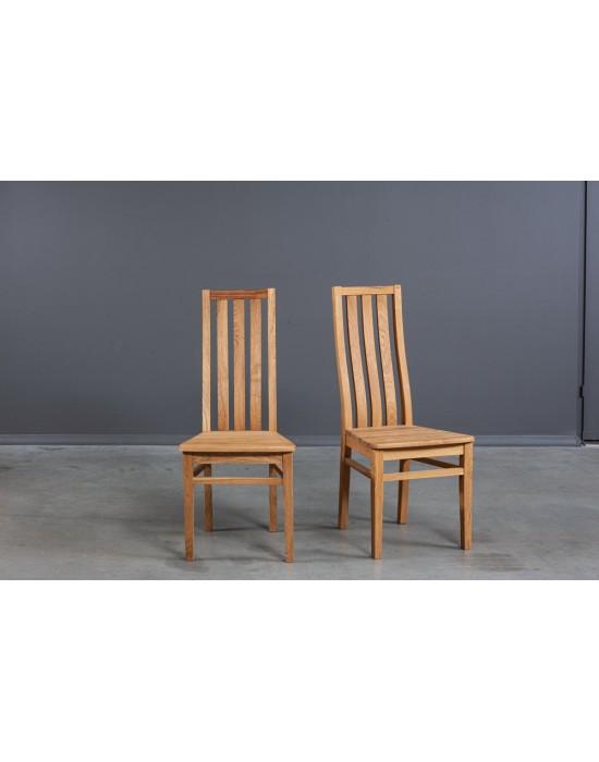 Pilnai ąžuolinė kėdė LUMI
