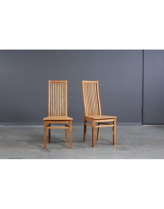 Pilnai ąžuolinė kėdė SANDRA