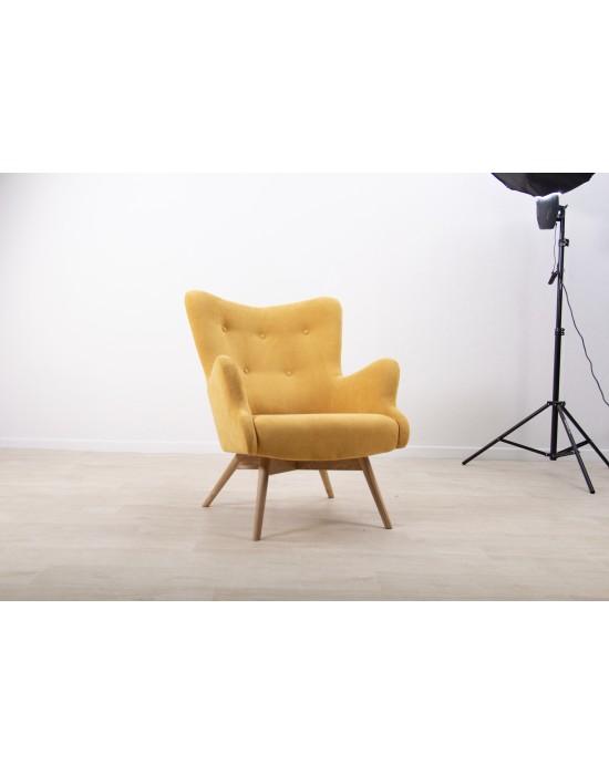 Retro stiliaus fotelis TREND