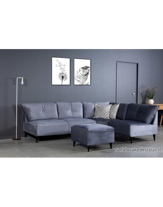 NORDIC MAXI  S 1C2 (174x240cm) kampinė sofa