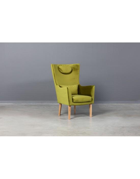 Skandinaviško stiliaus fotelis FLY