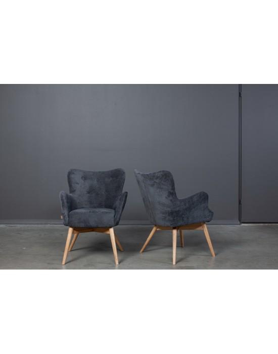 Retro stiliaus fotelis TREND S