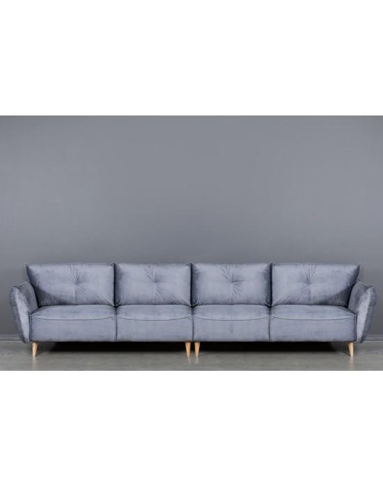 NORDIC (382cm) 3+3 komplektuojama sofa