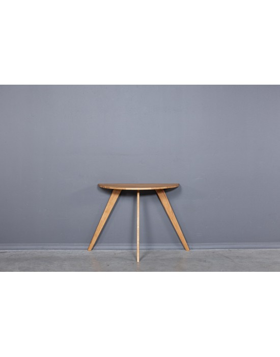 MOON OAKY 90x45 ąžuolinis šoninis stalas