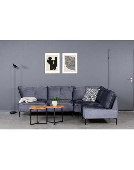 NORDIC MAXI  S 1C2 (178x240cm) kampinė sofa