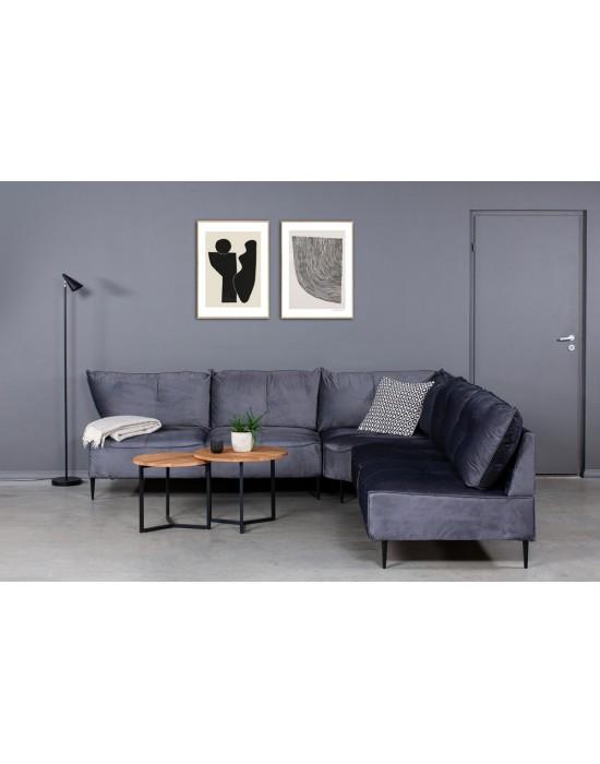 NORDIC MAXI S 2C2 (240x240cm)kampinė sofa