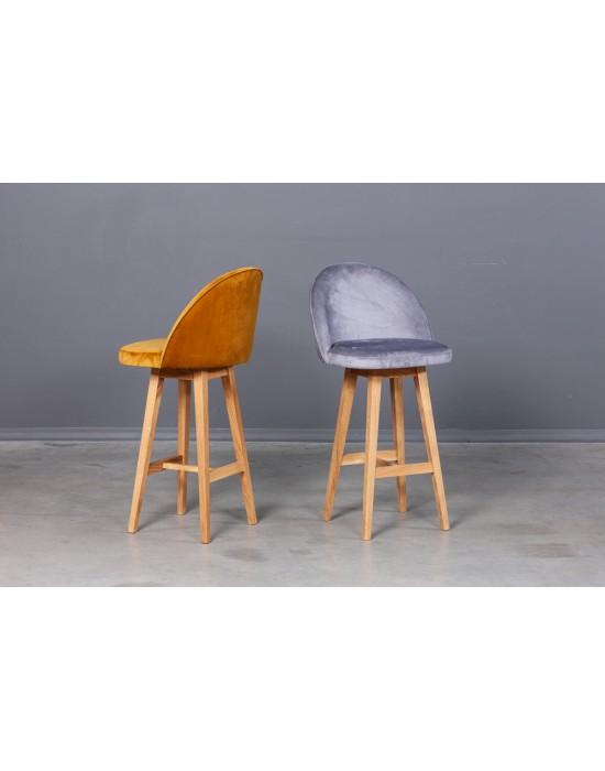 Minkšta Baro(72cm)kėdė SANNA oak base