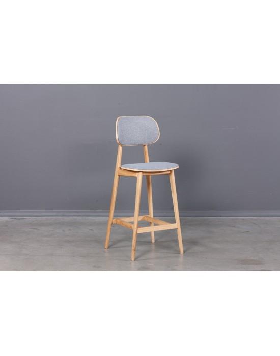 Ąžuolinė pusbario kėdė LULA Soft