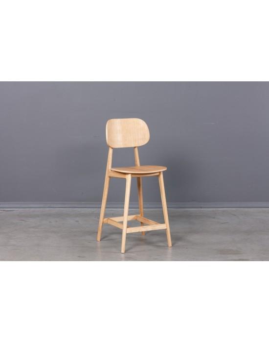 Ąžuolinė pusbario kėdė LULA