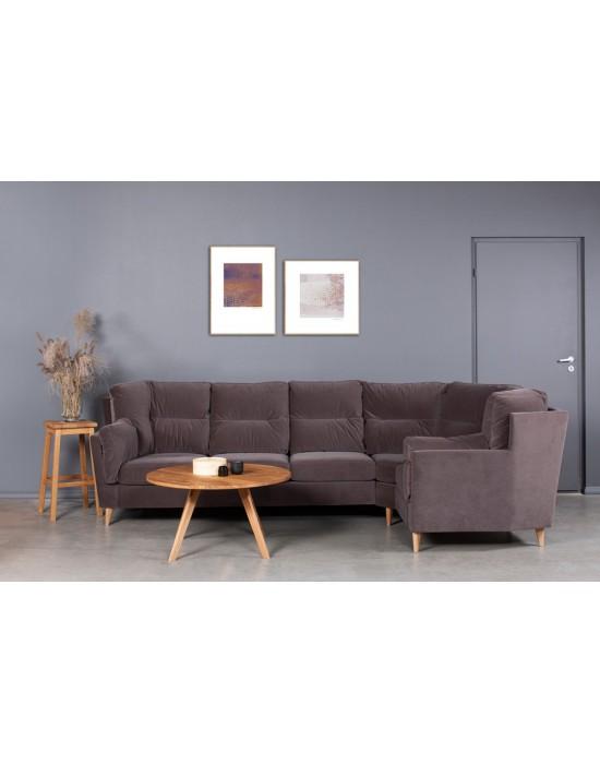 Kampinė sofa VERONA 3C1