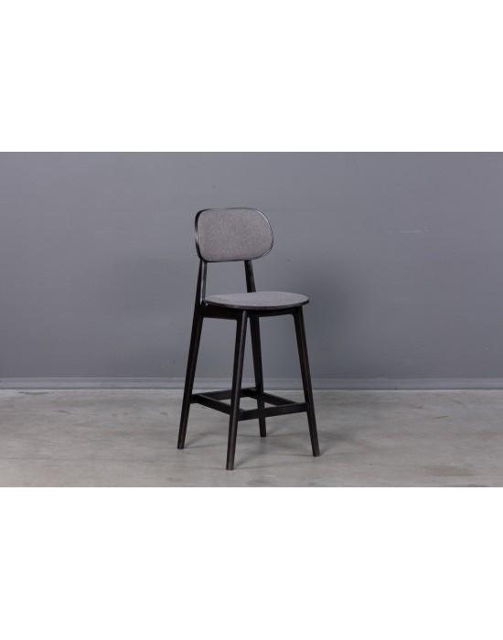 LULA Black Soft pusbario(65cm) kėdė