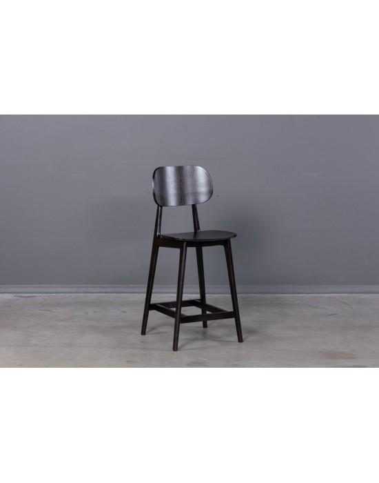 LULA Black pusbario(65cm) kėdė
