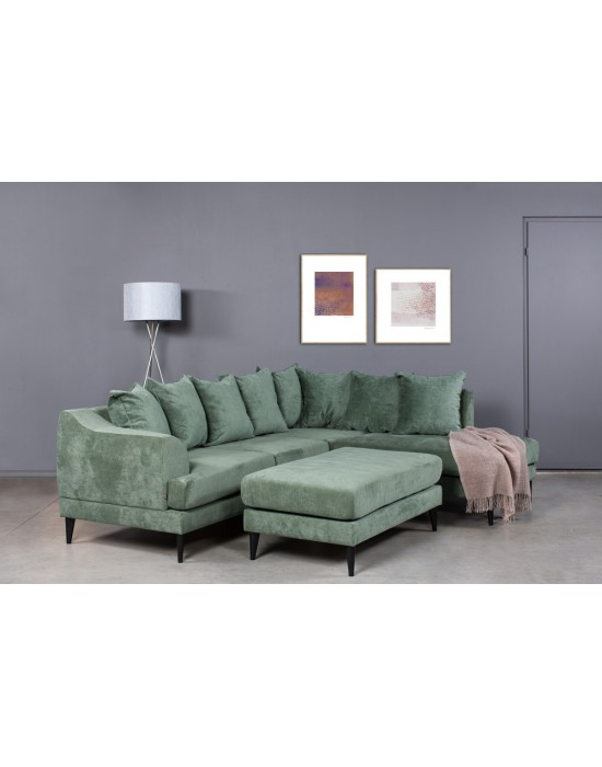 OSLO PREMIUM (256X210cm) 8 pagalvės kampinė sofa