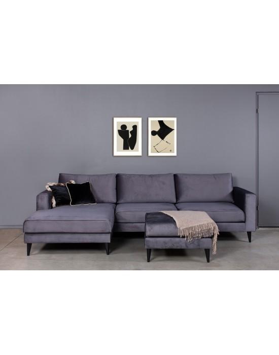 EwRIVIERA (298X163 cm)  kampinė sofa