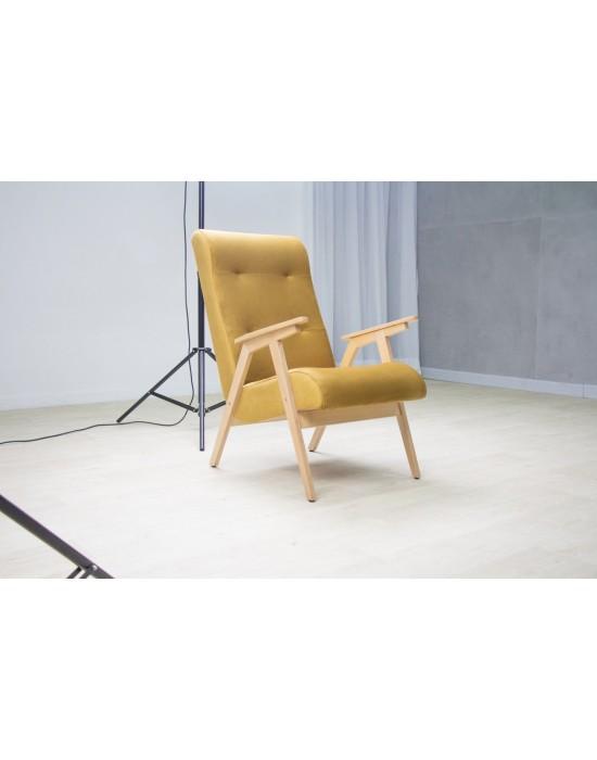 EGO (63cm) skandinaviško stiliau fotelis