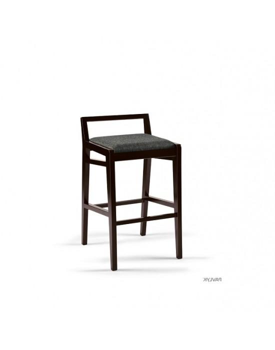 RAY Black Soft pusbario(62cm) kėdė