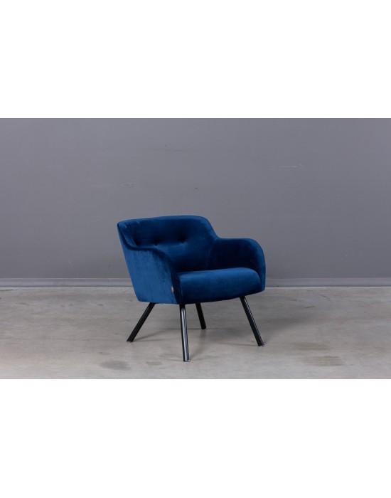 LEO (73cm) fotelis metalinėmis kojomis