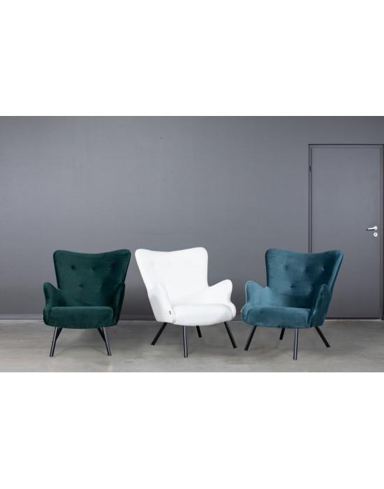 TREND (76cm) fotelis metalinėmis kojomis
