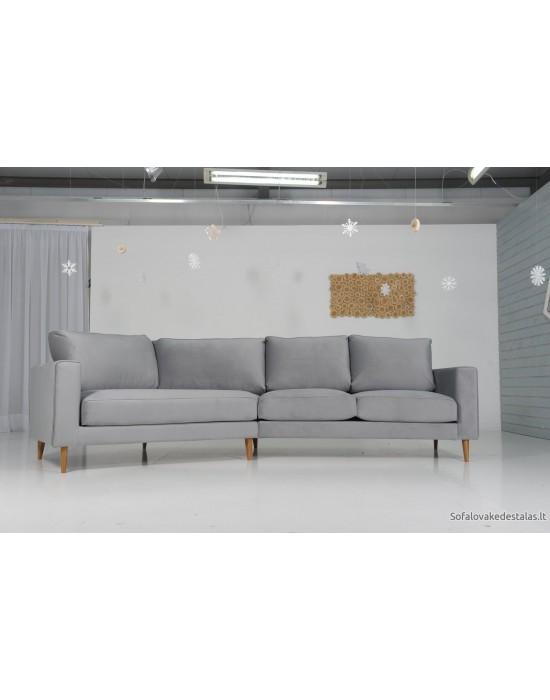 RIVIERA (321-163 cm)  kampinė sofa