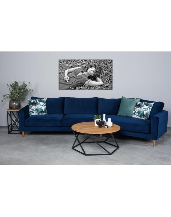 RIVIERA (355-163 cm)  kampinė sofa