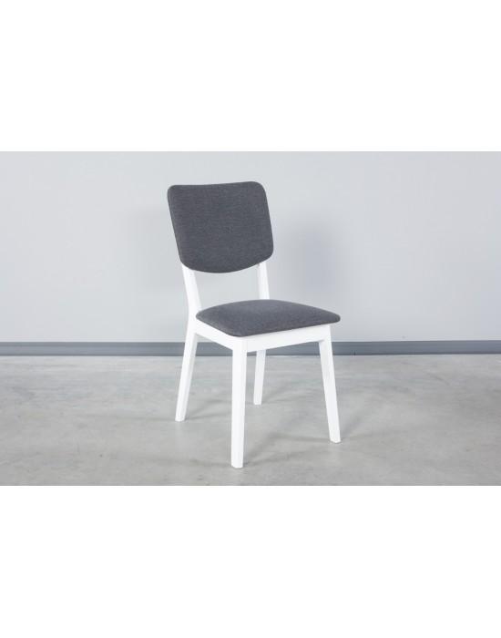 Ąžuolinė kėdė RETRO WHITE