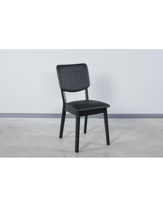 Ąžuolinė kėdė RETRO BLACK