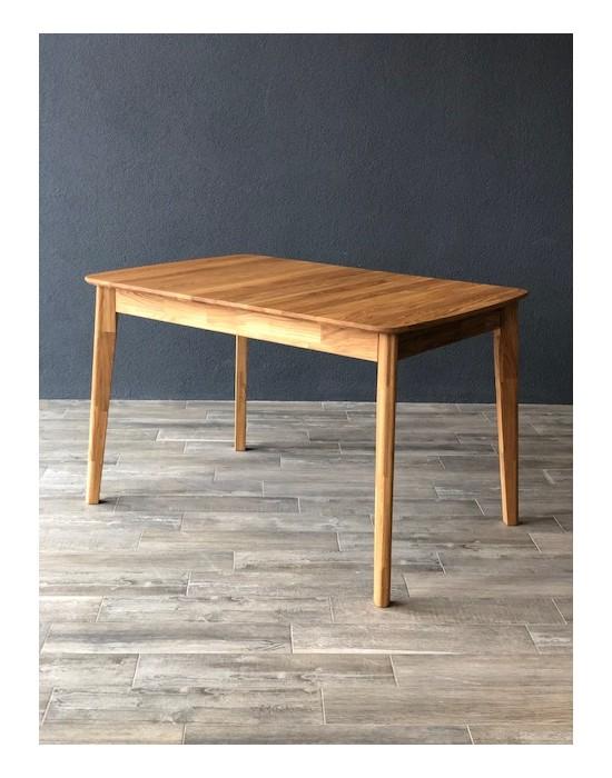 ISKU 140-185x80 ąžuolinis, prasiilginantis, stalas