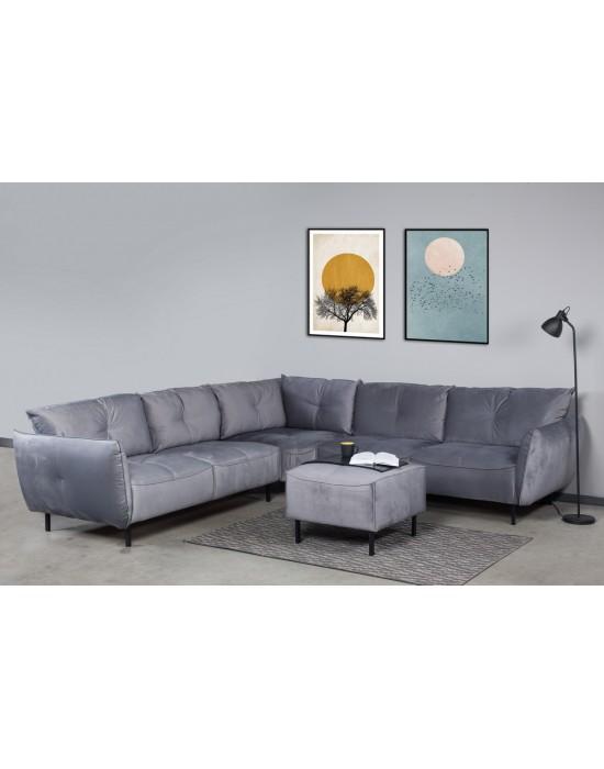 NORDIC MAXI 2C2 (300X300cm) kampinė sofa