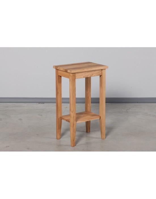 Ąžuolinis, šoninis staliukas  RETRO 40cm
