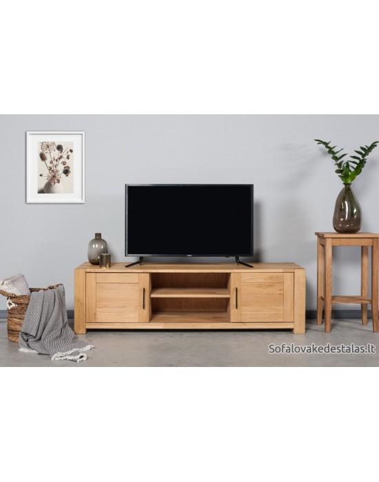 Ąžuolinis TV staliukas LAHTI MODERN 160