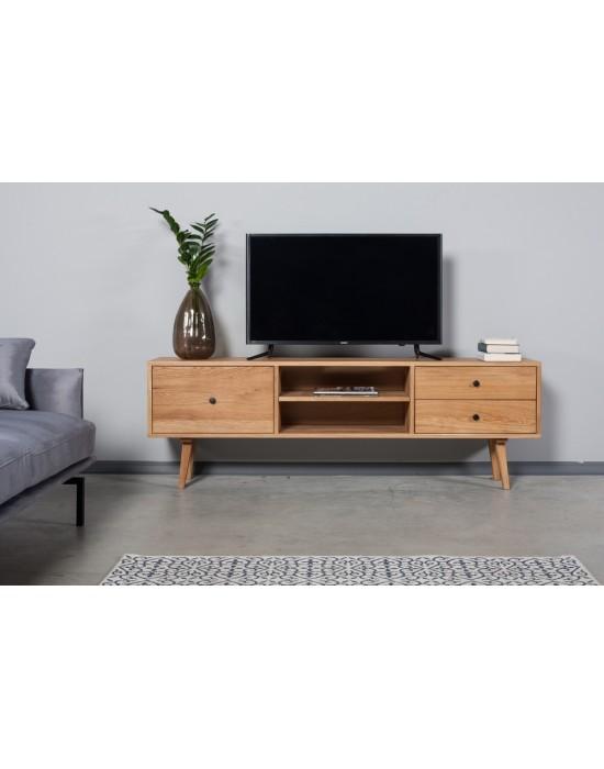 Ąžuolinis TV staliukas RETRO 180cm