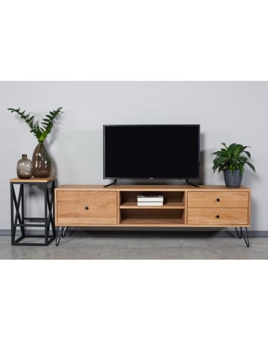 Ąžuolinis TV staliukas RETRO EASY 180cm