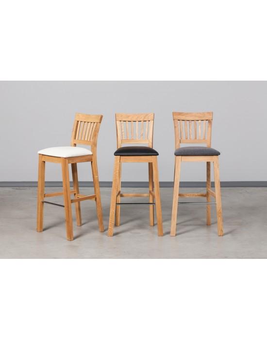 Ąžuolinė baro kėdė EKHOLM