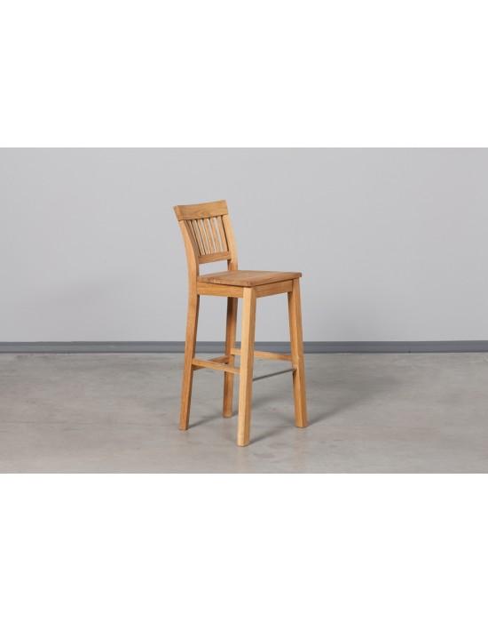 Pilnai ąžuolinė baro kėdė EKHOLM
