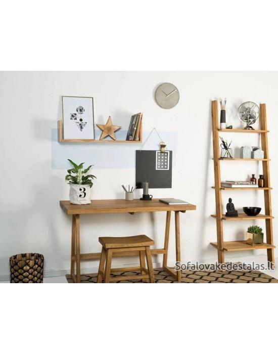 ALFA  (120x50) ąžuolinis darbo stalas
