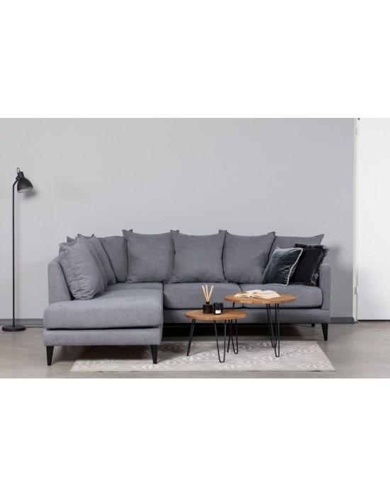 OSLO NEW (244x210cm)8 pagalvės kampinė sofa