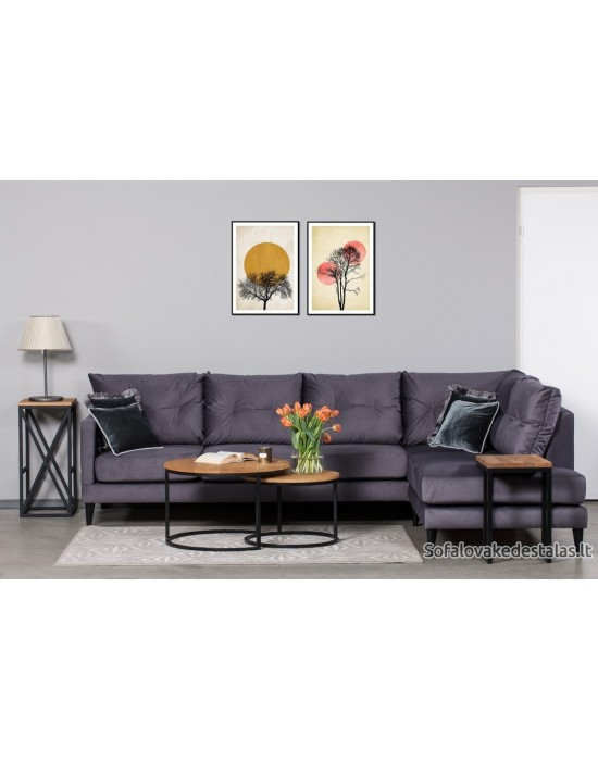 OSLO NEW (297X210cm) kampinė sofa