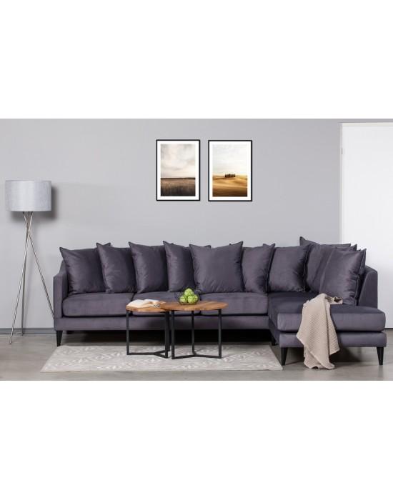 OSLO NEW (297X210cm) 10 pagalvių kampinė sofa