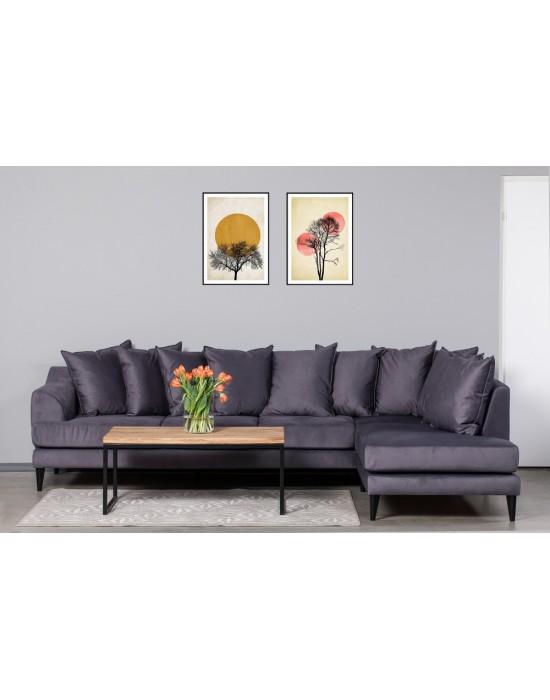 OSLO PREMIUM (312X210cm) 10 pagalvių kampinė sofa
